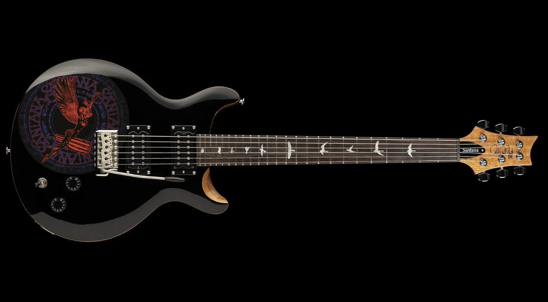PRS SE Santana Abraxas 50th Anniversary E-Gitarre Front