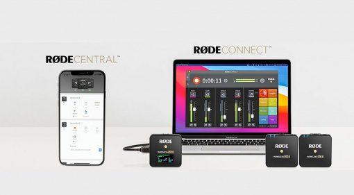 Rode Wireless GO II Update für Rode Connect und Central Mobile App