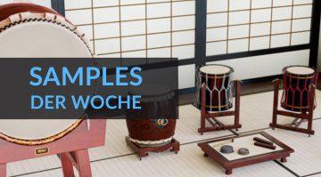 Samples der Woche: Kageyama Taikos, Golden Age Grand, Empyreal AD und kostenlose Sample Packs