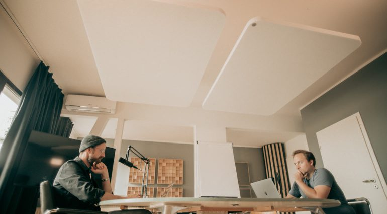 t.akustik PET Ceiling und Wall Absorber