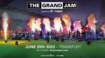 Thomann präsentiert The Grand Jam - Ihr könnt auf der Bühne stehen!