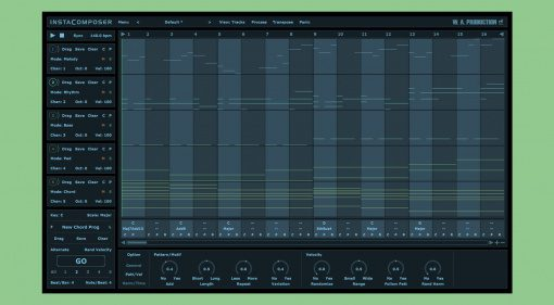 W.A. Productions Instacomposer: intelligentes MIDI-Generator-Plug-in