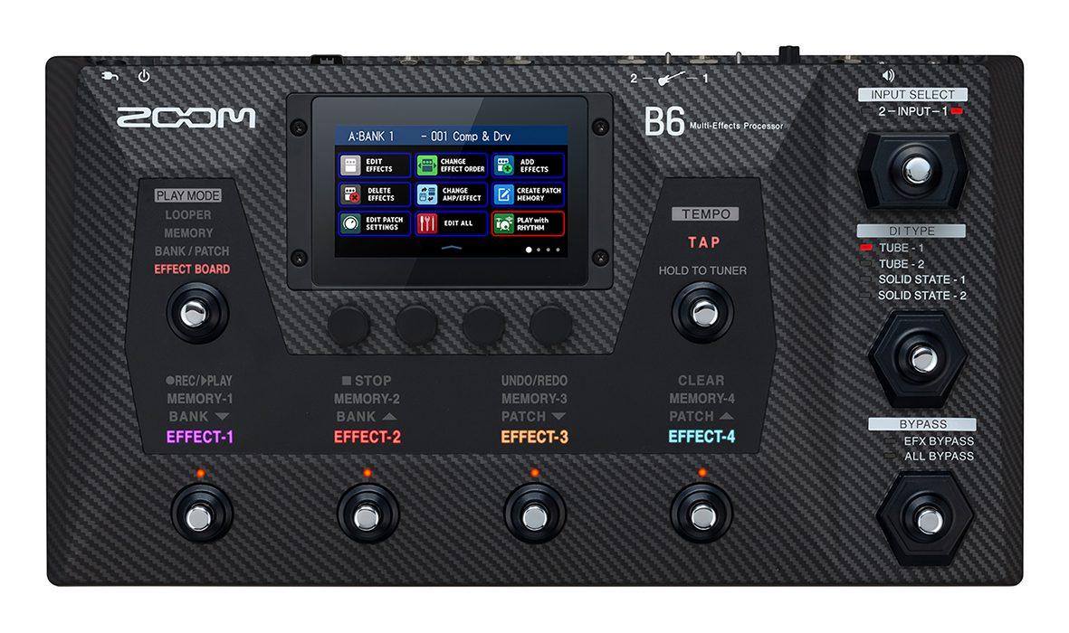 ZOOM B6 Multi-Effects Bass Processor